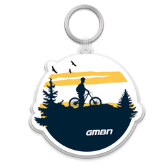 GMBN Adventure Silhouette Keychain