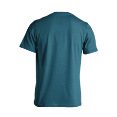 GMBN Word Logo T-Shirt - Blue & Silver