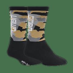 GMBN Camo Socks - Black & Gold