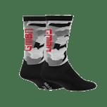GMBN Camo Socks - Black & Grey