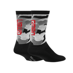 GMBN Camo Socks - Black & Grey