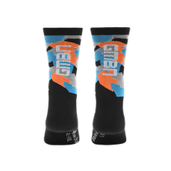 GMBN Camo Socks - Blue & Orange