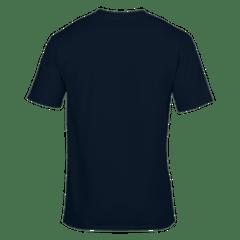 GMBN Classic T-Shirt - Navy Blue & Red