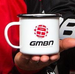 GMBN Enamel Mug