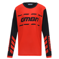 GMBN Junior Trail Jersey - Red & Black
