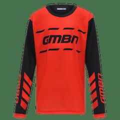 GMBN Junior Trail Jersey - Red & Black