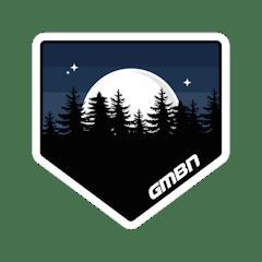 GMBN Moonlight Sticker