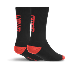 GMBN Socks - Black & Red