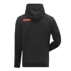 GMBN Trail Hoodie - Black & Red
