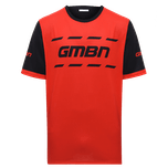 GMBN Trail Jersey Short Sleeve - Red & Black