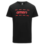 GMBN Trail T-Shirt - Black & Red