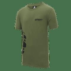 GMBN Tyre T-Shirt - Military Green & Black