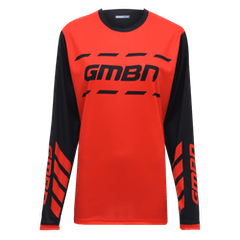 GMBN Womens Trail Jersey - Red & Black