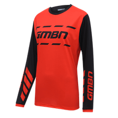 GMBN Women's Trail Jersey - Red & Black