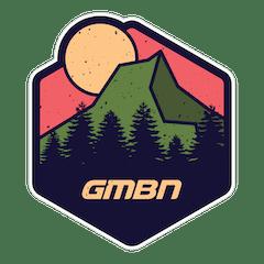 GMBN Adventure Mountain Sticker