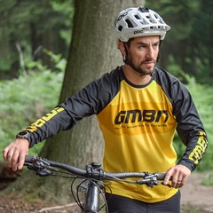 GMBN Descent Jersey Long Sleeve - Yellow