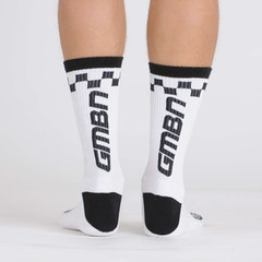 GMBN Contrast Edition Socks - White