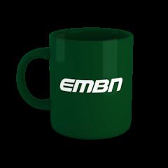 EMBN Green Word Logo Mug