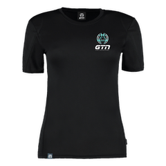 GTN Womens Running T-Shirt - Black