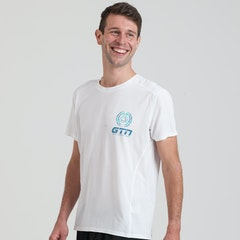 GTN Men's White Running T-Shirt