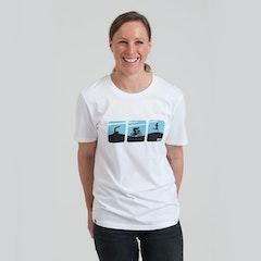 GTN Swim, Bike, Run Logos T-Shirt