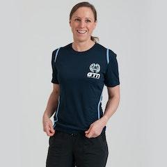 GTN Women's Blue Running T-Shirt