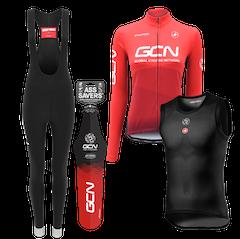GCN Women's Winter Warrior Castelli Kit Gift Bundle