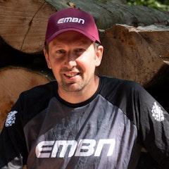 EMBN Core Maroon Baseball Cap