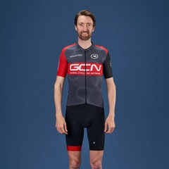 GCN Pro Team Jersey - Grey & Red