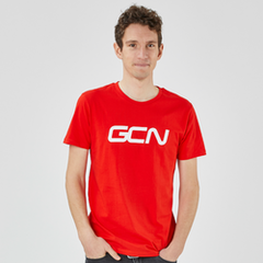 GCN Organic T-Shirt - Red & White