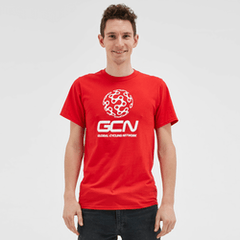 GCN Classic T-Shirt - Red & White