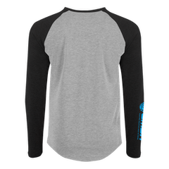 EMBN Classic T-Shirt Long Sleeve - Grey & Black