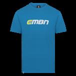 EMBN T-Shirt - Blue & White