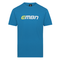 EMBN T-Shirt - Blue & White