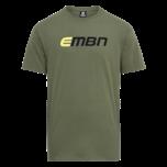 EMBN T-Shirt - Military Green & Black