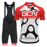 GCN Complete Fan Kit Bundle - White & Red