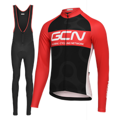 GCN Complete Winter Fan Kit Bundle - Black & Red