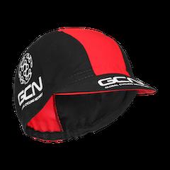 GCN Fan Kit Cycling Cap - Black & Red