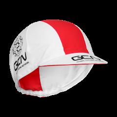 GCN Fan Kit Cycling Cap - White & Red