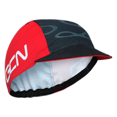 GCN Fan Kit Cycling Cap - Red & Black