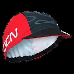 GCN Fan Kit Cycling Cap - Red & Black