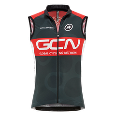 GCN Pro Team Vest - Grey & Red