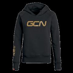 GCN Womens Organic Hoodie - Black & Gold