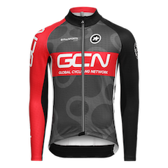 GCN Pro Team Winter Jacket - Grey & Red
