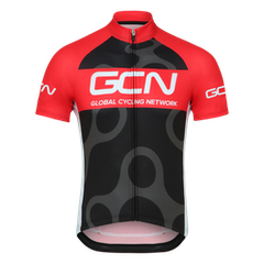 GCN Fan Kit Jersey - Black & Red