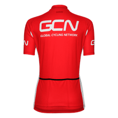 GCN Fan Kit Women's Jersey - Black & Red