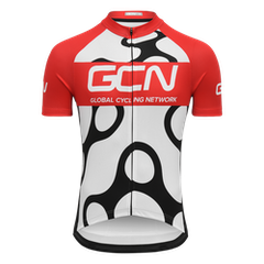 GCN Fan Kit Jersey - White & Red