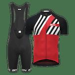 GCN Complete Stripes Bundle - Red & Black