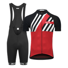 GCN Complete Stripes Bundle - Red & Black