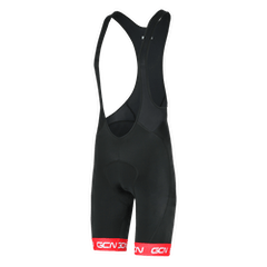 GCN Fan Kit Bib Shorts - Black & Red